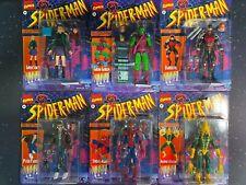 2020 Marvel Legends Spider-Man Retro Wave 1 Set of 6 Action Figures