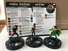 RA'S TALIA AL GHUL Lot x3 Heroclix NEW DC Batman the Animated Series 023 033 034