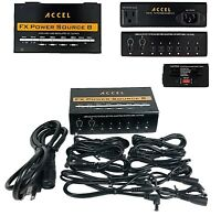 Pedal Board Power Supply Accel FX Power Source 8 with 8 isolated outputs