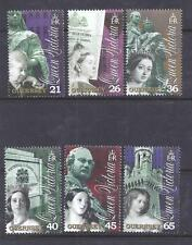 GUERNSEY, 2001, DEATH CENT OF QUEEN VICTORIA, SG 884-89, MNH SET OF 6, CAT £ 5.5