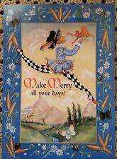 New Pamela Silin-Palmer Make Merry All Your Days Birthday Card InterArt Orig Env