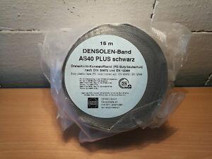 Denso Band AS40 PLUS Schwarz Isolierband Kunststoffband PE-Butylkautschuk 100mm