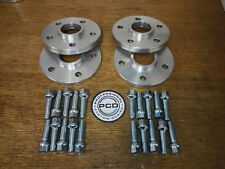 AUDI A5 Wheel Spacers 2007+ 5x112 66.5CB Hubcentric 15mm&20mm & 20 Bolts 2 PAIR