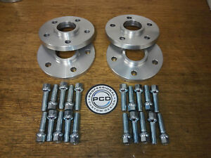 AUDI A5 Wheel Spacers 2007+ 5x112 66.5CB Hubcentric 20mm&25mm & 20 Bolts 2 PAIR