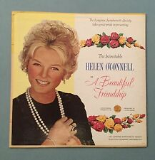 "Helen O'Connell ""A Beautiful Friendship"" Vinyl LP Record SYS 5243 VG+"
