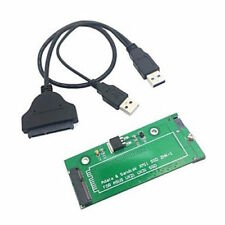 "18 Pin SATA Adapter Card for Asus UX31, UX21, EP121 SSD+USB Cable 2.5"" 3.5"" PC"