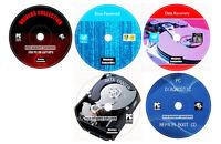 Antivirus Codecs Drivers Software Zip Data Recovery PC Repair Restore 5 DVD Set