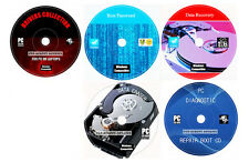 Antivirus Codecs Drivers Software Zip Data Recovery PC Repair Restore 5 DVD Set