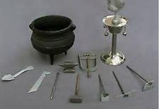 Complete Ogun  Tool with Ogun Pot