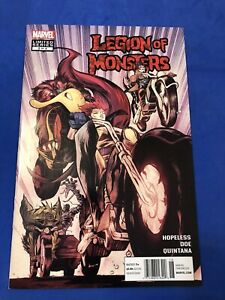 Legion of Monsters #2 Marvel 1st First Print NM to VF 2012