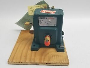 Reliance Master Speed Reducer A20 .33HP 20:1 Ratio Double Extended Shaft