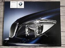 2006 BMW Series 7 Vintage Canadian dealer sales brochure catalog 98 pages french