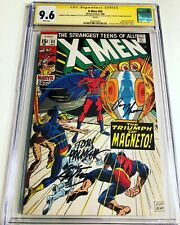 CGC SS 9.6 X-Men #63 Variant signed Stan Lee, Neal Adams +2 not 9.8 JC Penney