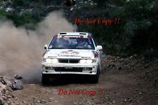 Ari Vatanen Mitsubishi Galant VR-4 Acropolis Rally 1989 Photograph 2