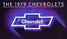 1979 Chevrolet 24-page Sales Brochure Catalog - Camaro Corvette Monte Carlo