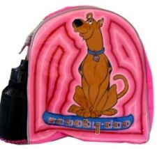 Scooby Doo kid size backpack school bag Toddler Free water sports bottle pink