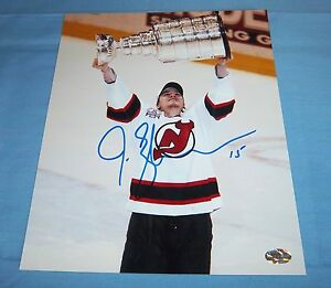 New Jersey Devils Jamie Langenbrunner Signed Autographed 8x10 Photo Stanley Cup