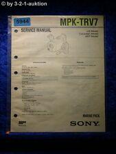 Sony Service Manual MPK TRV7 Marine Pack (#5944)