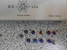 Swarovski vintage 12 gemmes (perles à sertir ) 6mm volcano z