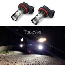 TOURYOO 2x 50W H11 Super Bright CREE White LED Fog Light Bulb FOR Audi BMW Acura