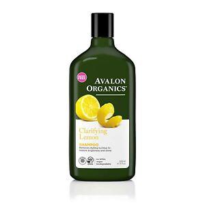Avalon Organics Shampoo, Clarifying Lemon, 11 Oz