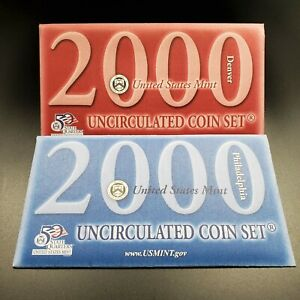 2000 US Mint Uncirculated Set OGP COA RobinsonsCoinTown Combined Ship Discounts