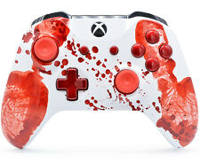 """Bloody Hands"" Xbox One S Rapid Fire Modded Controller, COD IW BO3, Destiny etc"