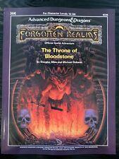 Throne of BLOODSTONE H4 Dice Set - Ad&d 1e Forgotten Realms SC Reprint