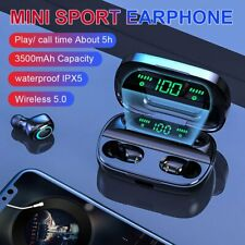 Bluetooth 5.0 Headset Wireless Earphones Mini Earbuds Headphone Noise Cancelling