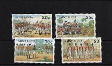 ST LUCIA SG1171/4, 1997 BRIGANDS WAR MNH