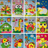 5Pcs 3D Puzzle Handmade DIY Paste Sticker Foam Kids Educational Gift Toy 3C