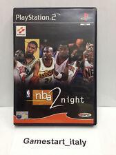 NBA 2 NIGHT PS2 PLAYSTATION 2 BASKET - VIDEOGIOCO USATO IN OTTIME CONDIZIONI