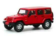 GREENLIGHT 86177 2017 Jeep Wrangler Unlimited Sahara Firecracker Red 1:43