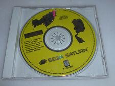 SEGA SATURN VIDEO GAME DISC ONLY BRAIN DEAD 13 READYSOFT