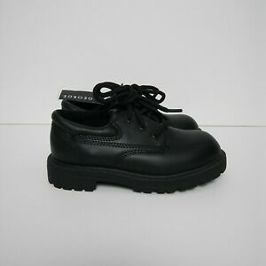 NWT George Black Dress Shoes Boys Kids Size 10