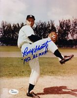 Bobby Shantz Yankees Signed Jsa Certified 8x10 Photo Authentic Autograph