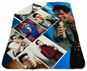 Brendon Urie Blanket Sherpa Fleece 150x200 cm Queen Size NEW Panic! At The Disco