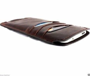 genuine leather Case for apple iphone 6 / 6s book wallet handmade slim cover new