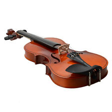 New Maple 3/4 Size Acoustic Violin Fiddle + Case + Bow + Rosin Natural
