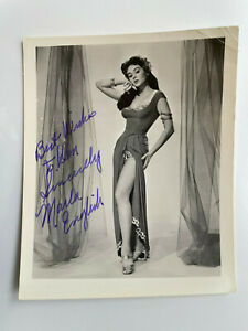 Marla English - Voodoo Woman - The She-Creature - Original Hand Signed Autograph