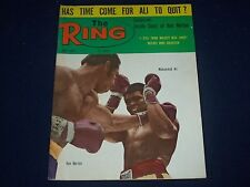 1973 NOV THE RING MAGAZINE - MUHAMMAD ALI & KEN NORTON - GREAT PHOTOS - J 1407