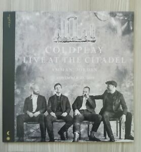 Coldplay - Live at the Citadel - 2LP - Amman, Jordan, November 23, 2019