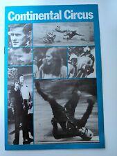 Continental Circus - Document du film de J.Laperrousaz- 1972