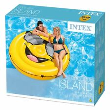 Intex Novelty Inflatable Loungers Ride-On Lilo Beach Pool Mat Float Swim Ring