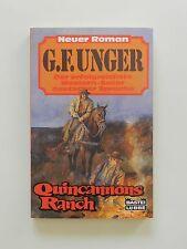 G F Unger Quincannons Ranch Roman Western Bastei Lübbe Verlag