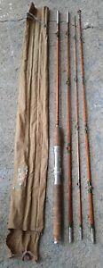 Vintage Montague Fishkill Bamboo Fishing Rod 2 Pc or 3 Pc Combo ~ Original Bag