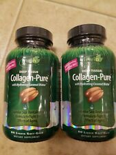 Irwin Naturals Deep Tissue Collagen-Pure with Coconut Water 80x2 160Soft-Gels