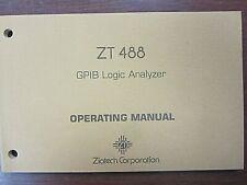 Ziatech Zt 488 Gpib Logic Analyzer Operating Manual