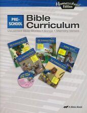 Abeka Homeschool Preschool Bible Curriculum