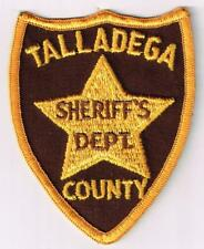 Talladega County Sheriff, Alabama - old style patch - old cheesecloth backing